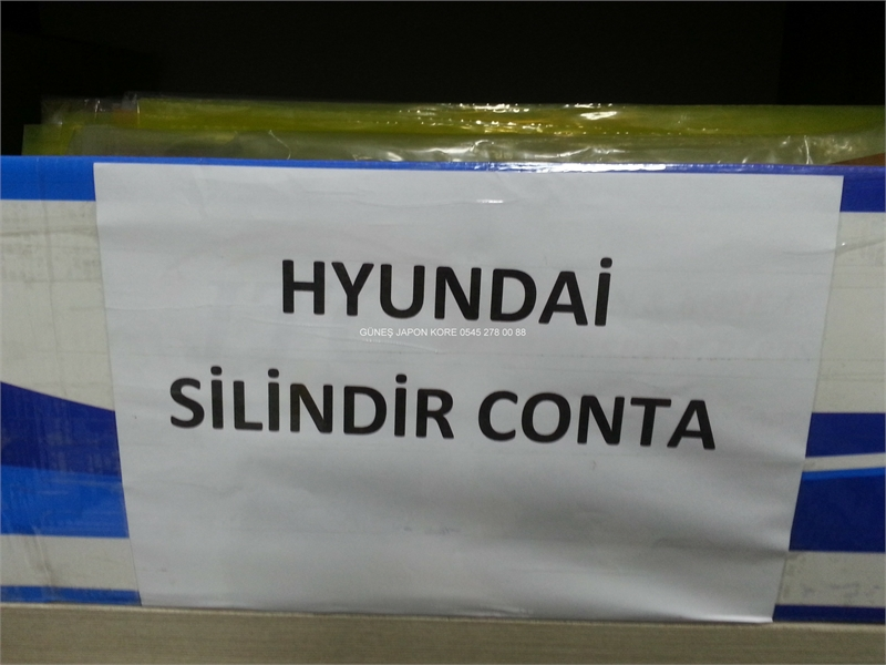 Hyundai Silindir kapak Contası Ankara Şaşmaz